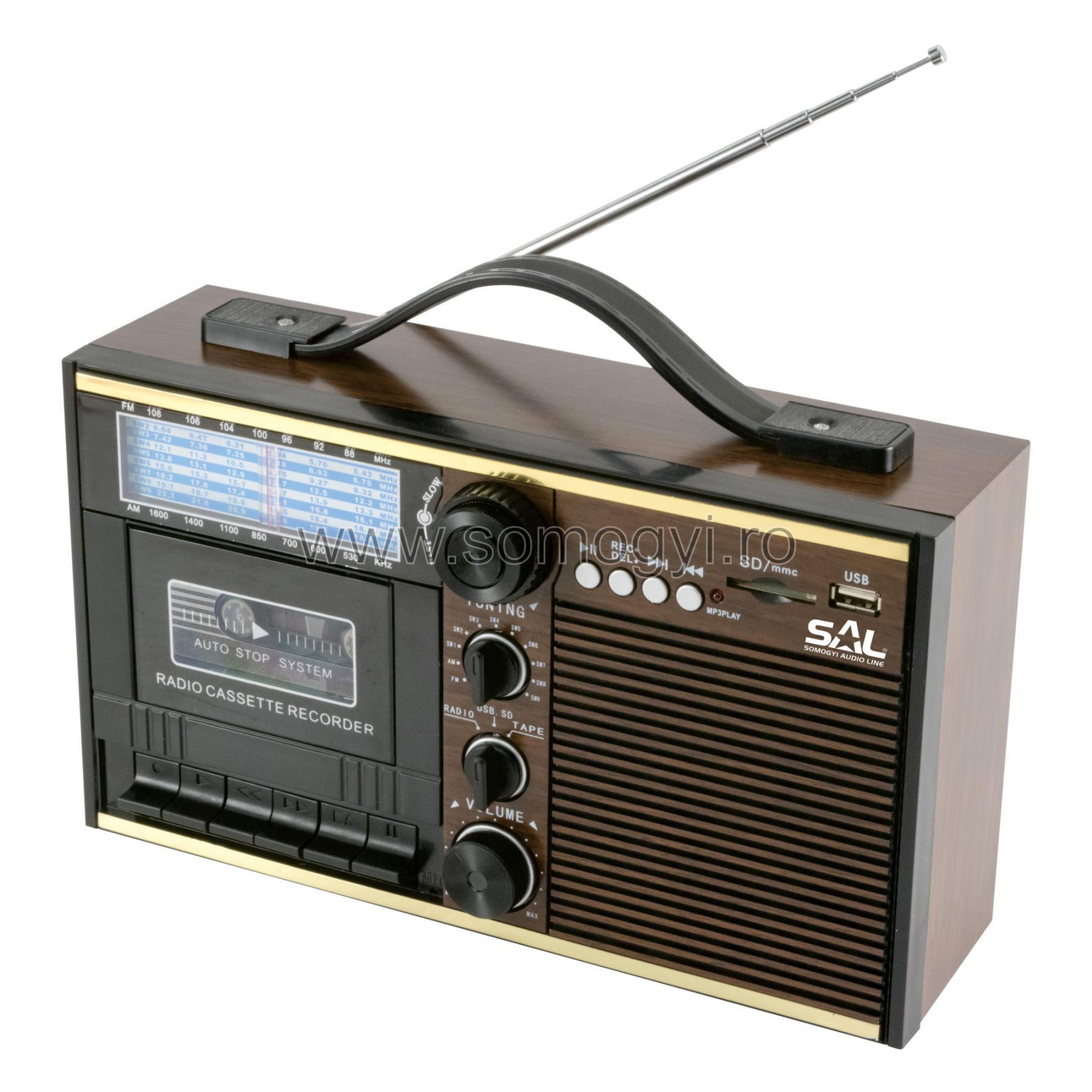 radio-casetofon AM, FM, SW RRT11B