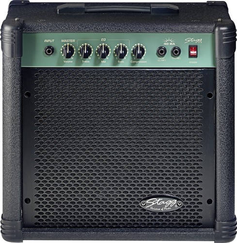 combo 40 W RMS Bass Amplifier Stagg