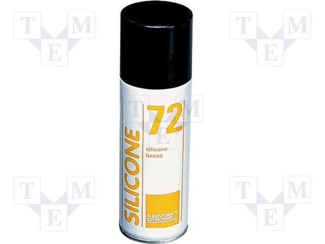 72/200 Spray Silicone 72 200ml