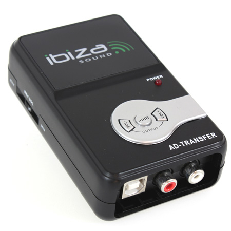 CONVERTOR AUDIO ANALOG DIGITAL RCA USB IBIZA