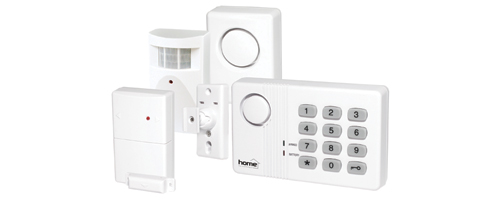 ALARMA CU COD, SENZORI FARA FIR (WIRELESS ALARM SYSTEM) AM500