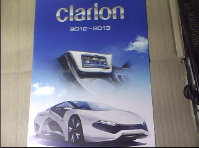 catalog electronica audio-video auto CLARION 2012-2013