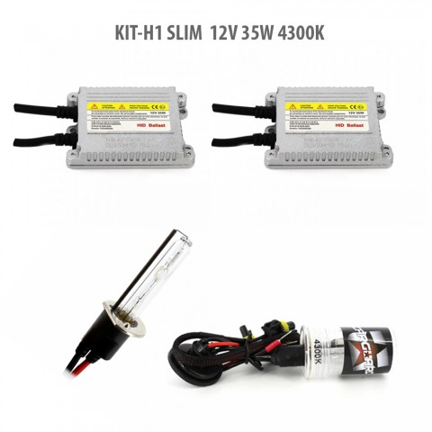 H1 kit Xenon slim 12V 4300K