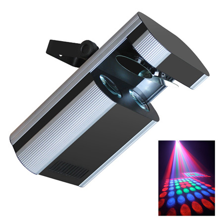 DUAL LED SCANNER, DMX 6 CANALE