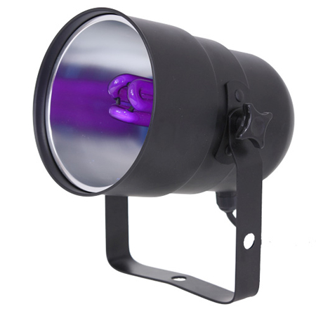 LAMPA UV blacklight PAR38 + bec economic E27 25W