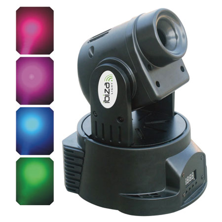 MOVING HEAD LED RGB 50W WASH LIGHT DMX