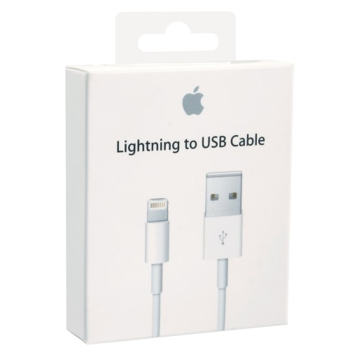 cablu de date USB - Apple lightning MD818ZM/A Iphone 5, 5C, 5S