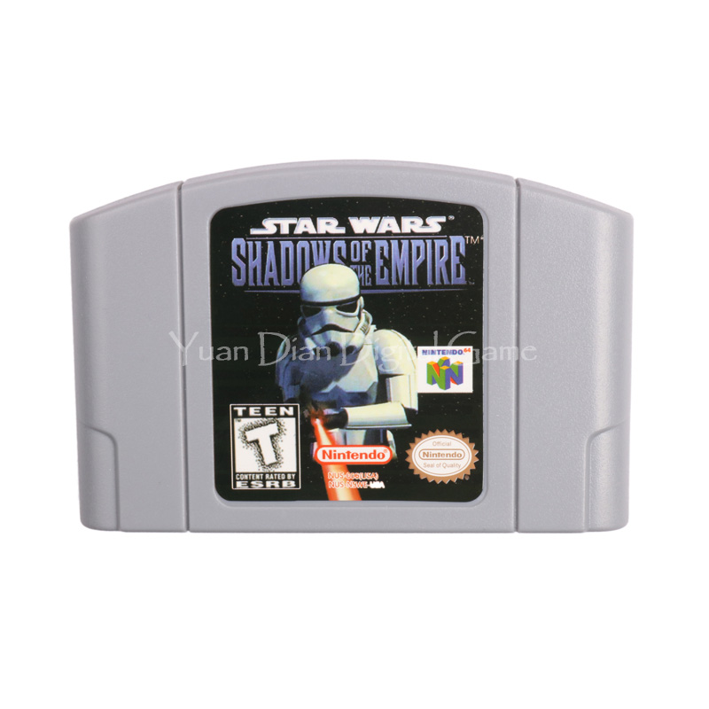 caseta joc Nintendo n64 Starwars  - Shadows of the Empire