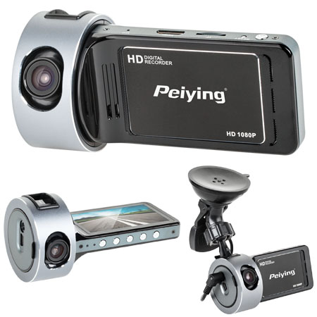 DVR AUTO FULL HD (1920X1080) HDMI+GPS PEIYING