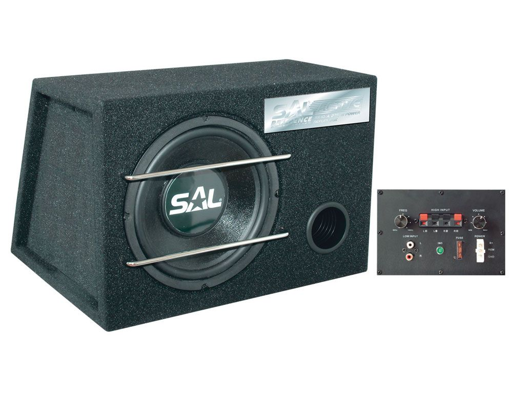 "RX10A Subwoofer activ SAL 10"" max.275W"