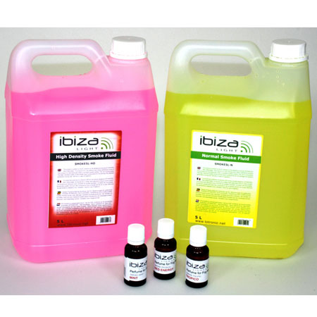 Lichid de fum greu, low level, 5L roz, Ibiza