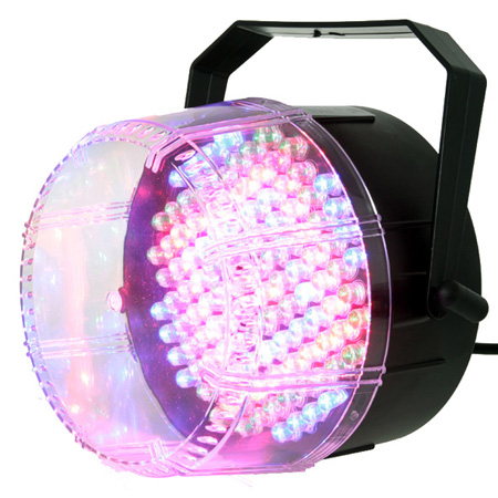 stroboscop 112 LED multicolor automat