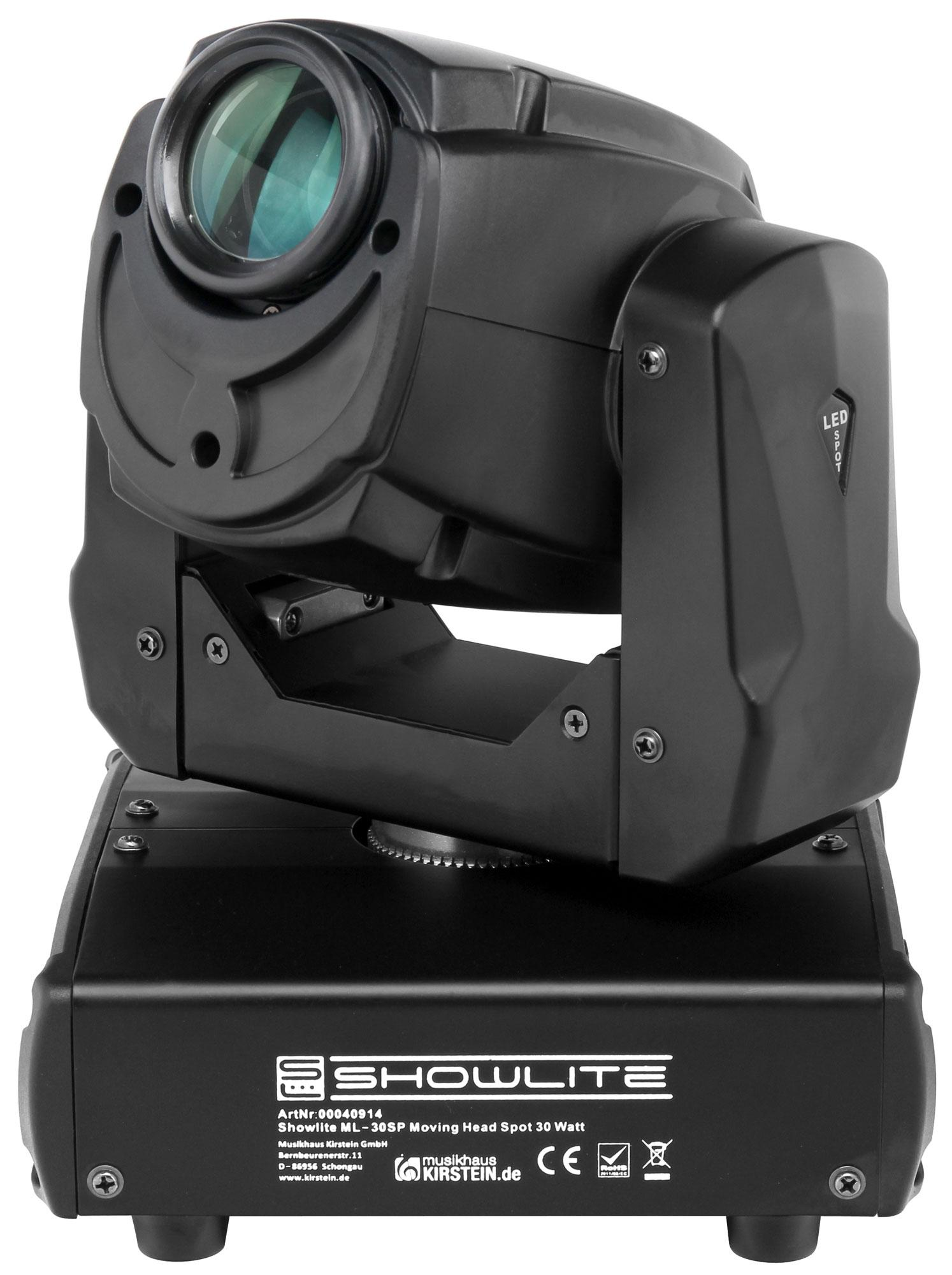 moving head LED 30W 10 gobo Showlite