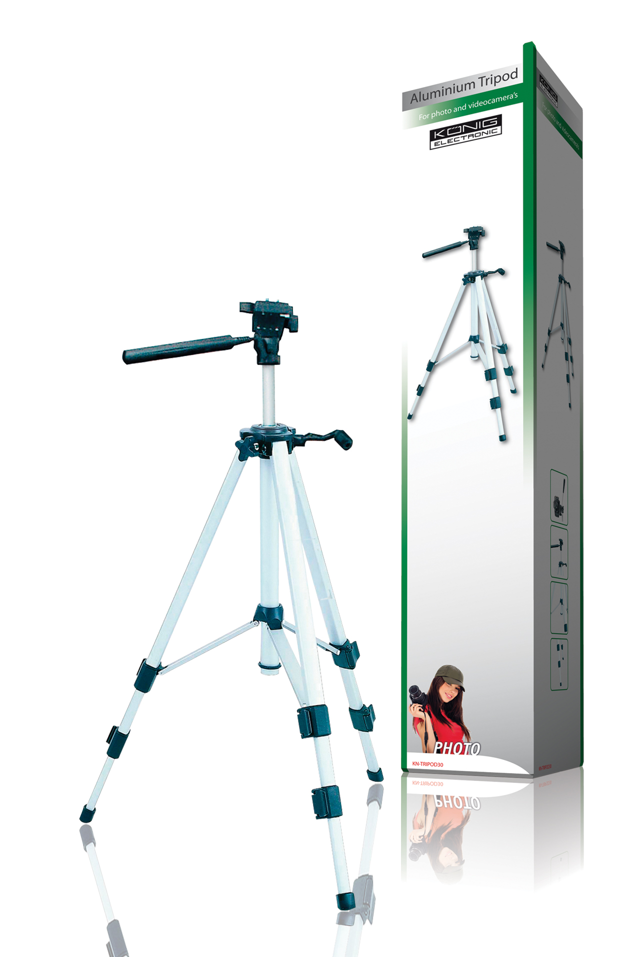 trepied foto VIDEO DE LUXE, TRIPOD 30 KONIG