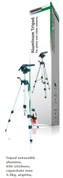 trepied foto VIDEO DE LUXE, 1.61m, 3.5kg TRIPOD 40 KONIG