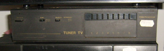 TUNER TV ELECTRONICA
