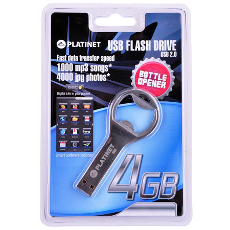FLASH DRIVE STICK USB 2.0 8GB EEGO deschizator bere