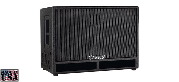 BRX10.2 BASS SPEAKER CABINET 600W CARVIN
