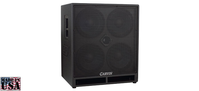 BRX10.4 BASS SPEAKER CABINET 1200W Carvin