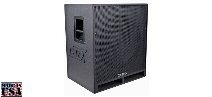 BRX18.1 BASS SPEAKER CABINET 800W CARVIN