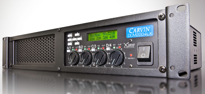 amplificator audio Carvin ultrausor 2000W DCM2004LX-E