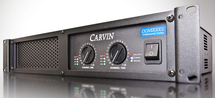amplificator audio Carvin ultrausor 3000W Carvin DCM3000L-E
