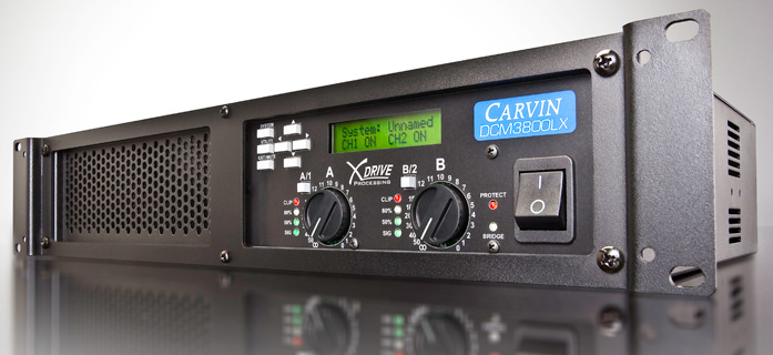 amplificator audio Carvin ultrausor 3800W DCM3800LX-E