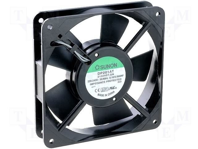 ventilator 12V c.c. 120x120x25mm DP201AT2122HBT
