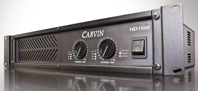 amplificator audio Carvin ultrausor 1500W rms/4 ohmi HD1500