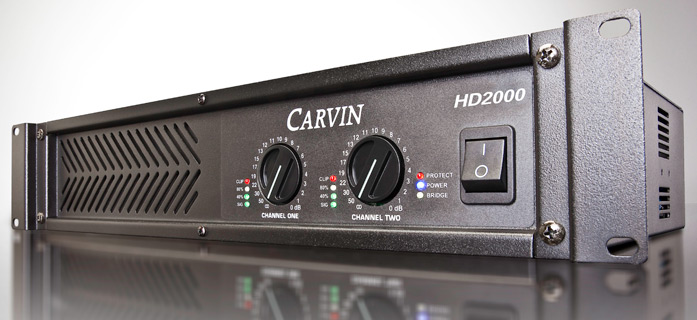 amplificator audio Carvin ultrausor 1700W HD2000