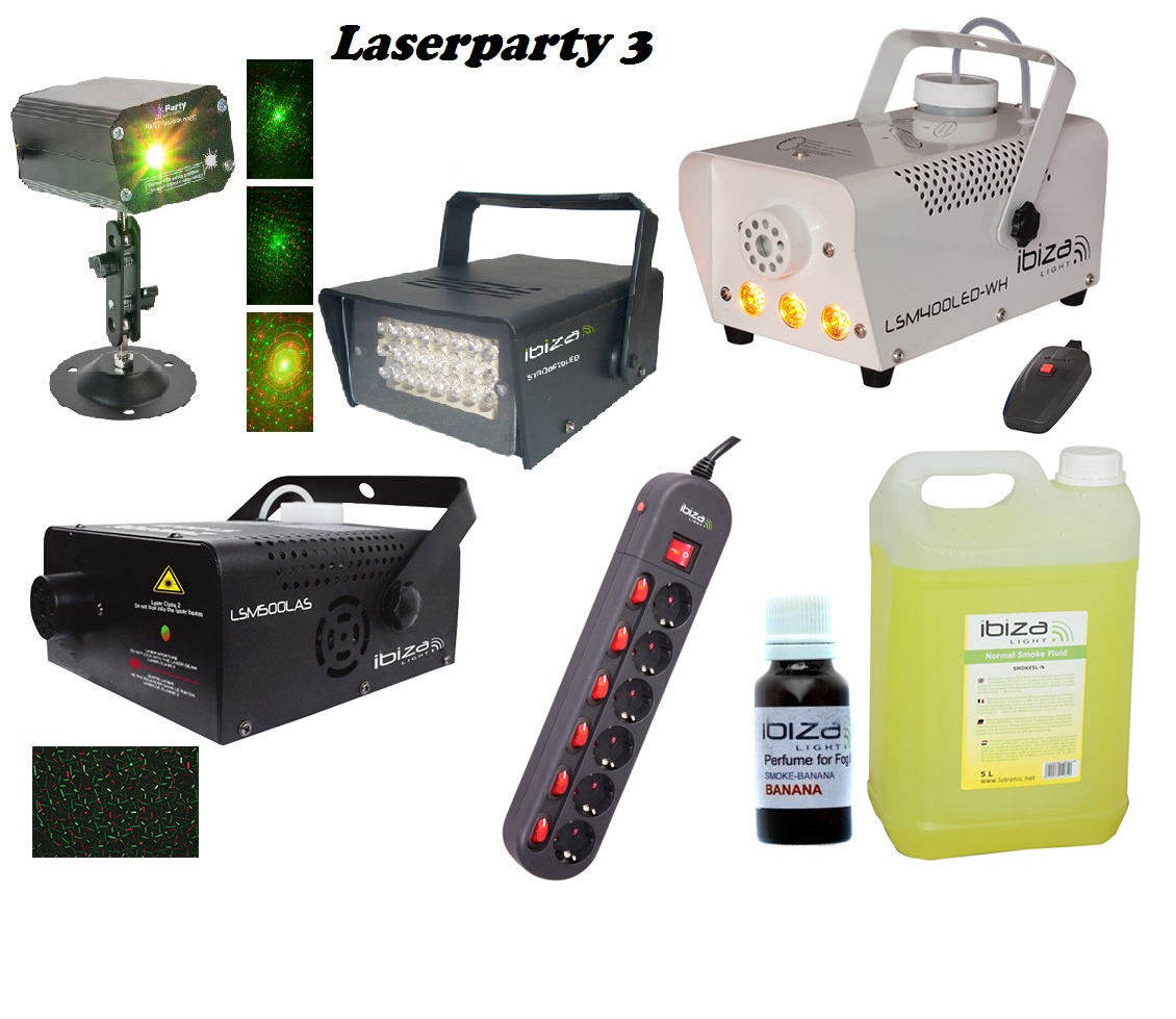 set LASERPARTY 3