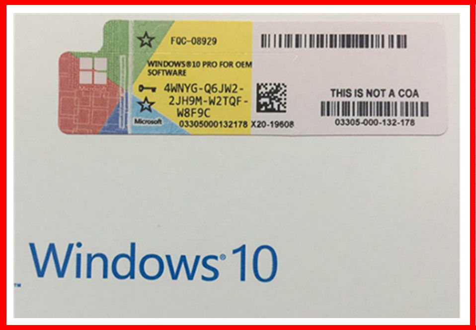 Licenta OEM Microsoft W0indows 10 Windows 10 Pro 64bit Engleza