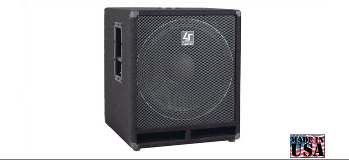 boxa subwoofer Carvin LS1501 400W rms/800W nominal max.1600W