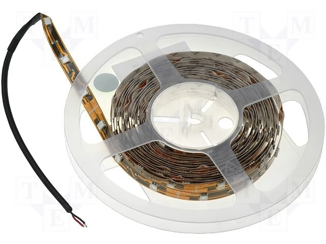 Bandă 150LED SMD 5060 2500x10x2,4mm 12V RGB