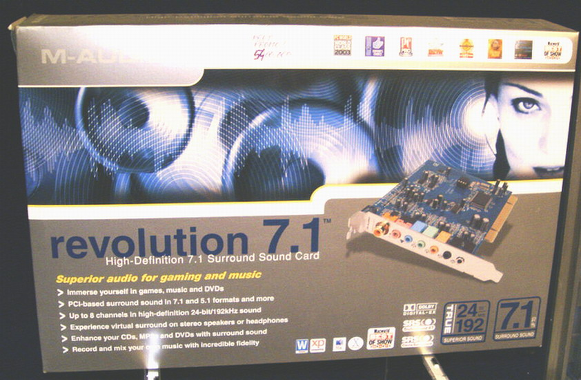 placa M-AUDIO Revolution 7+1 PROFESSIONAL