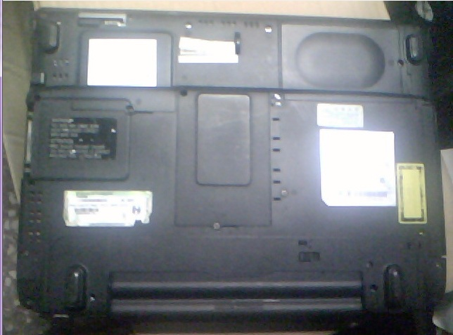 laptop defect Toshiba SPM30FS PSM35E-002X0-FS WinXP